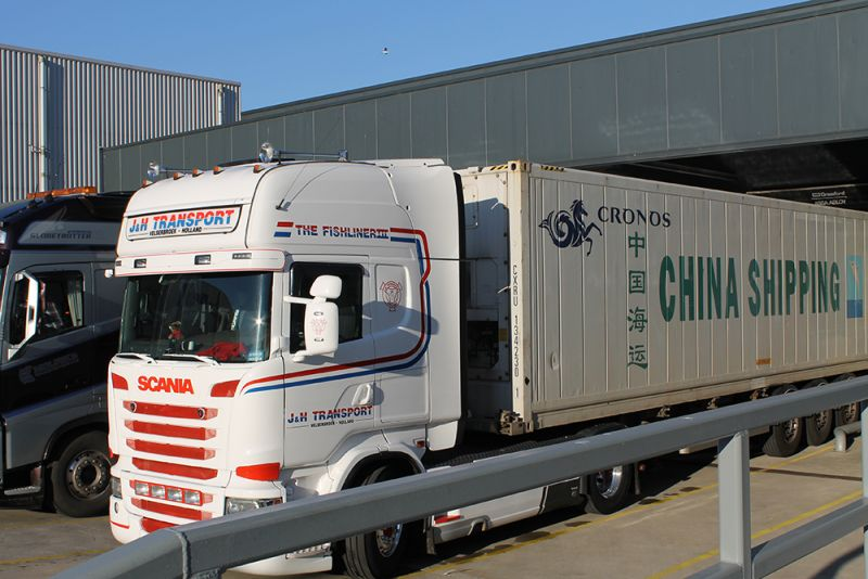 J&H Transport container vervoer