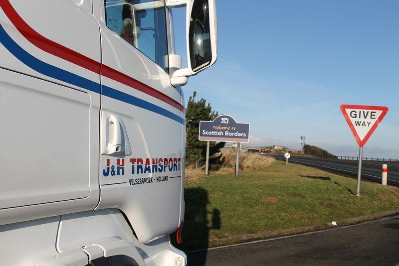J&H Transport Velserbroek is de Schotland specialist