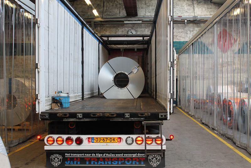 J&H Transport staal vervoer