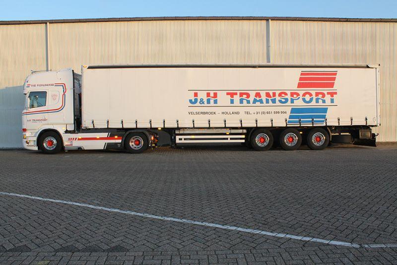 Wij zijn J&H Transport Velserbroek